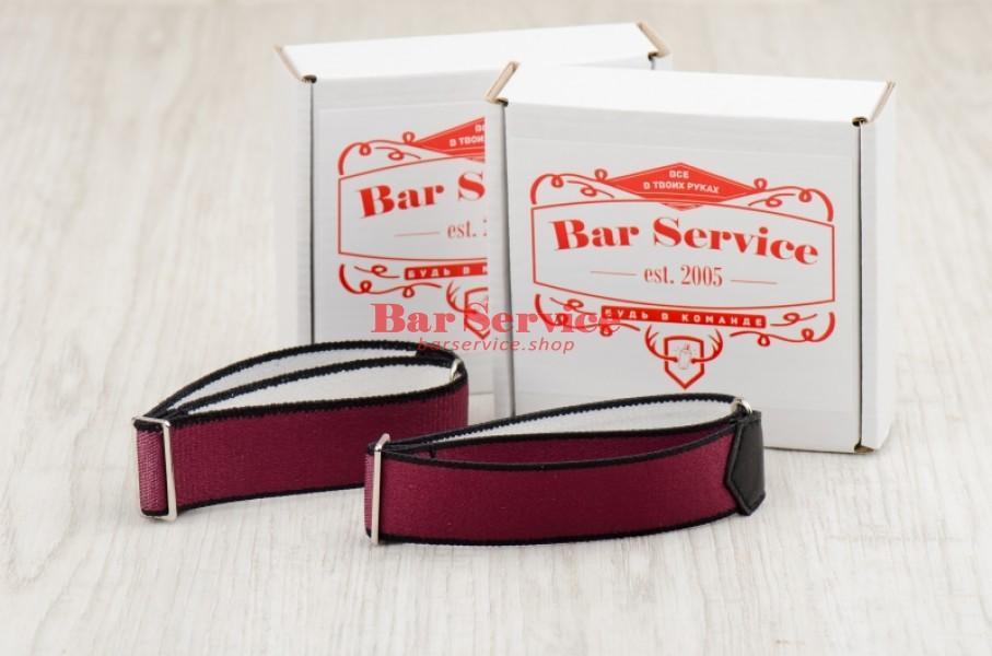 Армбенды, цвет бордо. Bar Service в Ярославле