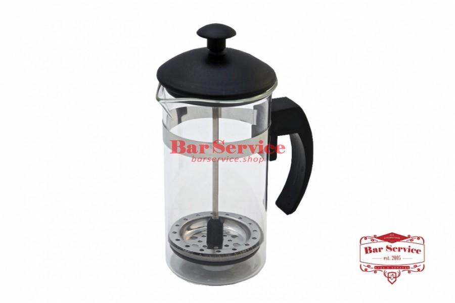Чайник-кофейник Черный Объем: 350 мл. (френч пресс) в Ярославле